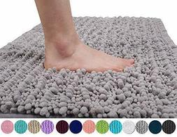 Yimobra Original Luxury Chenille Bath Mat, Soft Shaggy 31.5