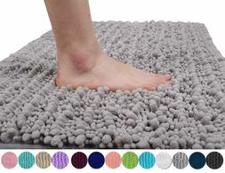 Yimobra Original Luxury Chenille Bath Mat, Soft Shaggy and C