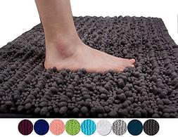 Yimobra Original Luxury Shaggy Bath Mat Large Size 31.5 X 19