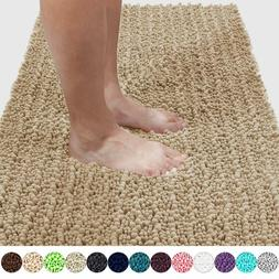 Yimobra Original Luxury Shaggy Bath Mat, Soft and Cozy, Supe