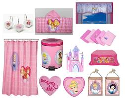 Pink Princess Bathroom Accessories Shower Curtain Towels Sto