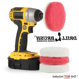 Power Scrubber Scumbusting Scrub Pad Bathroom Cleaning Kit