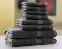 Utopia Towels Premium 8 Piece Set Bath Washcloths Ring Spun