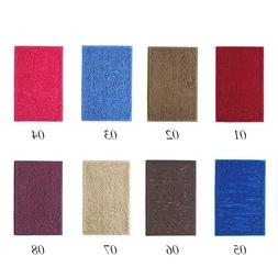 Pure Soft Chenille Floor Mat Anti-Slip Bath Door Entrance Ab