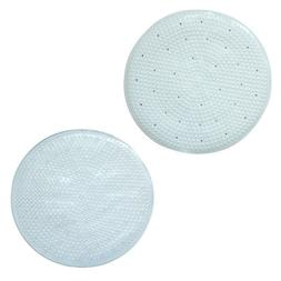 Blue Canyon Quadrant Bath Mat In Clear Or White 50 x 50 cm S