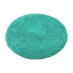 Round Shaggy Dog Door Mats for Living Room Chenille Soft Mic