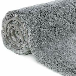 Rug Bath Mat 32x20 Non-Slip Soft Shower Plush Microfiber Was