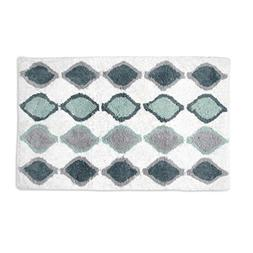 Shell Rummel Sea Glass Bath 20 x 32 Rug, Teal