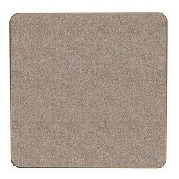Skid-resistant Carpet Area Rug Floor Mat - Pebble Beige - 3'