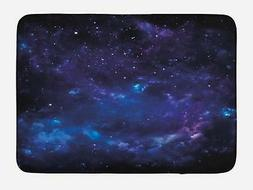 "Sky Bath Mat Bathroom Decor Plush Non-Slip Mat 29.5"" X 17.5"""