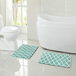 Amagical Soft Microfiber Nonslip Bathroom Shower Accent Rugs