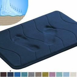 "Soft Non Slip Absorbent Bath Rugs Area Rug Sets 20"" x 32"" Na"