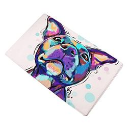 Sothread 40x60cm Soft Non-Slip Rectangle Dog Printed Carpet