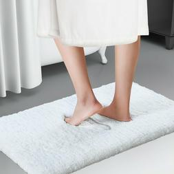 Lifewit Soft Shaggy Bath Mat Non-slip Bathroom Rug Microfibe