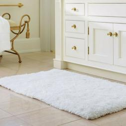 Soft Shaggy Bath Mat Non-slip Bathroom Rug Microfiber Floor