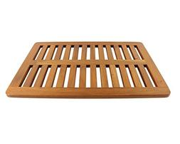 Solid TEAK Luxury Bath Mat