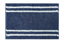 stylehouse WK682519 Striped Textured Noodle Rug with Latex B