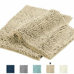 Taupe Rugs for Bathroom Oversize Bath Rug Super Soft Bath Ma