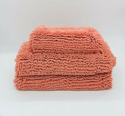 Thick High Quality Memory Foam Bath Mats with Advanced AirFl