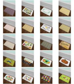 Vegetable Bath Mat for Bathroom Home Decor Plush Non-Slip Ma