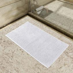 - Lifewit Non-slip 80 x 50cm Chenille Bath Mat, Easy to Cle
