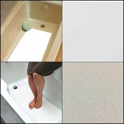 16 X 34 White Adhesive Vinyl Anti Slip Non Skid Safety Bath