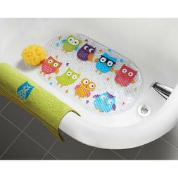 MAINSTAYS WHOOTY OWL BATHTUB MAT HOOT COLLECTION NON-SLIP OW